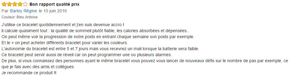 Avis Bracelet FitBit Flex 2
